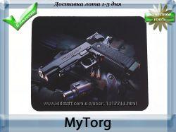 Коврик для  мыши new gun анти-скольжение