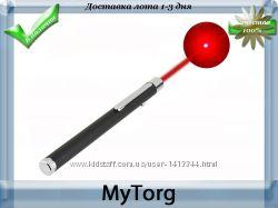 Мощная красная лазерная указка caneta, 5 мвт