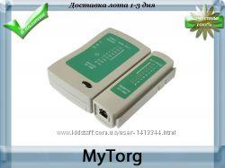 Тестер сети master sy-468 тестирование кабелей rj45 и rj11