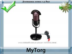Микрофон chenyun cy-509 ретро-стиль 3, 5мм