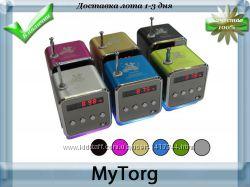 Портативная колонка td-v26 c fm-радиоmicro sdtf usb