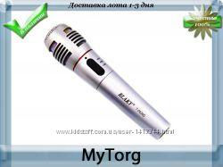Караоке-микрофон rlaky 7-0030 2 в 1 беспроводной проводной
