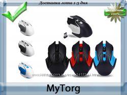 Беспроводная игровая оптическая мышь wireless gaming