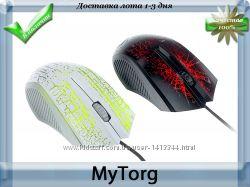 Проводная мышь malloom optical два цвета с подсветкой