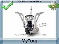 Горелка газовая туристическая складная с пьезоподжигом tramp trg-009