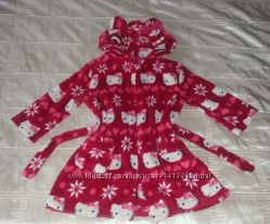 Халат махровый оригинал Hello Kitty р. 98-104 3-4 года