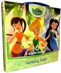 Книги на английском - Disney Fairies Twinkling Tales6 Books in a carry box