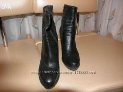 Ботинки кожаныедемисезонные