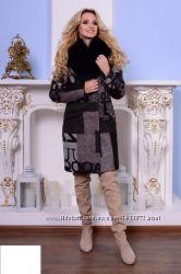 Пальто зима  44-48рр