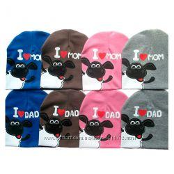 шапочка детская на мальчика 1, 2, 3, 4, 5 лет
