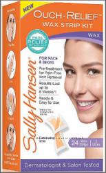 SALLY HANSEN ouch-relief face wax strips
