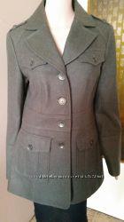 Утепленное пальто Marc New York цвет темно- зеленый шерсть размер M
