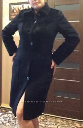 Пальто, длинна миди в очень хорошем состоянии