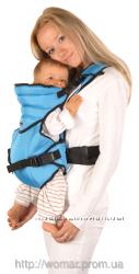 Найзручнiший рюкзак-переноска Womar для малюкiв вiд 3 до 24 мiс 5-13 кг