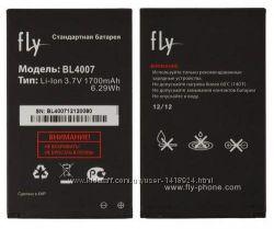 Оригинальный аккумулятор для Fly DS123, DS130, BL4007