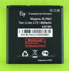 Оригинальный аккумулятор для Fly IQ431 Glory, IQ432 Era Nano 1 BL7403 Li-Io