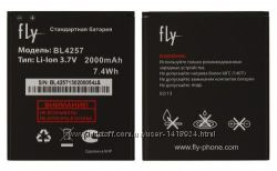 Оригинальный аккумулятор для Fly IQ451, IQ541Q, BL4257