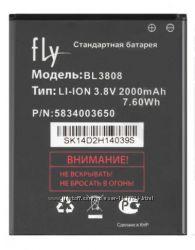 Оригинальный аккумулятор для Fly IQ456 Era Life 2, BL3808
