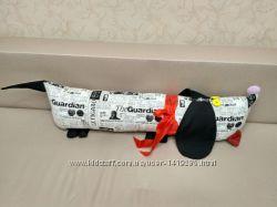 Интерьерная подушка, мягкая игрушка ручной работы
