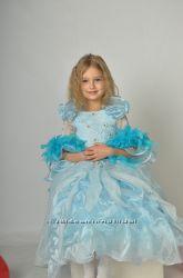 Красивое платье Принцесса Золушка, Фея на возраст 4-7 лет. Прокат