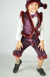 Красивый Костюм Гномика на возраст 3-6 лет. Новогодние костюмы
