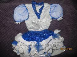 Звездочка, снежинка костюм на 4-6 лет.