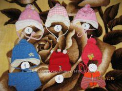 Красивая зимняя шапка на девочку