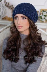 Женская шапка фигурная вязка. Опт и розница