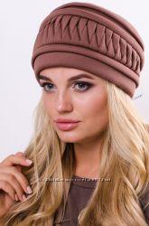 Женская шапка Корона. Разные цвета