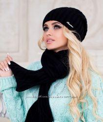 Комплект шапка и шарф Аврора