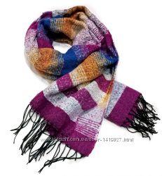 Модные теплые шарфы 2016-2017 . Разные цвета
