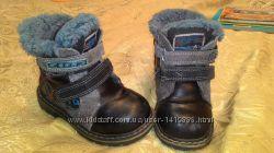 Зимние ботиночки, теплые, на меху