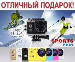 Экшн камера Sports Cam Full HD 1080p Аналог GoPro Видео-Фото 12 MPx