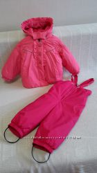 эксклюзивный зимний костюм комбинезон lenne для девочки размер 80 6
