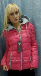 Розовая  молодёжная куртка евро-зима