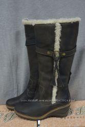 Тёплые зимние сапоги на платформе