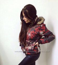 Молодежная короткая куртка для женщин
