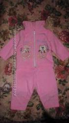 Новый теплый костюм до года для девочки