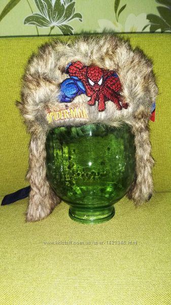 Шапка-ушанка TM Marvel Spider man 46-48, 48-50р.