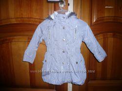 Куртка деми 4 года 104 см Некст на меховушке