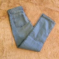 landsend джинсы голубые на 152-158см.