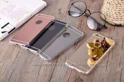 Чехол Зеркальный на Iphone 5, 5s, 6, 6s, 6plus, 7, 7plus, Samsung Galaxy S5