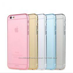 Чехол силиконовый на iPhone 4, 4s, 5, 5s, 5c, 6, 6s, 6 plus, 7, 7plus