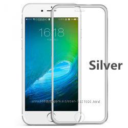 Защитное  стекло 3D на iphone айфон 4, 4s, 5, 5s, 5с 6, 6s, 6 plus