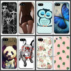 Крутые силиконовые чехлы на Iphone 4, 4s, 5 , 5s, 6, 6s, 6 plus, 7, 7 plus