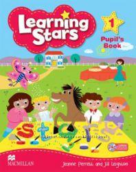 Learning Stars оригинал учебник английского для маленьких