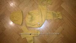 зимова шапка, шарф і рукавиці