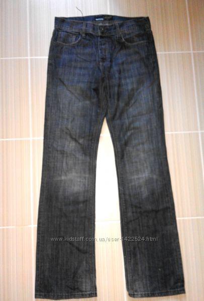 Фирменные прямые мужские джинсы smog