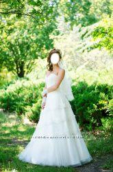 Красивое свадебное платье  перчатки, Европейский стиль, торг