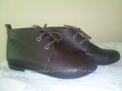Кожаные демисезонные ботинки Солди р. 36 в наличии